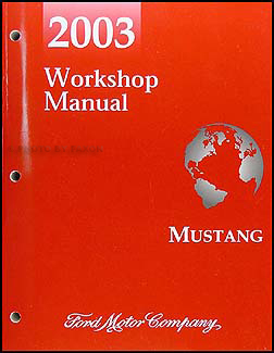 ford mustang repair shop manual original