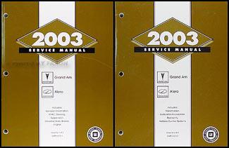 2003 grand am repair manual