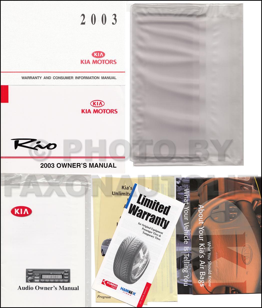 2003 kia rio repair shop manual original. Black Bedroom Furniture Sets. Home Design Ideas