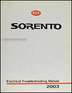 2003 kia sorento electrical troubleshooting manual original rh faxonautoliterature com 2003 kia sorento electrical problems kia sorento trailer wiring diagram