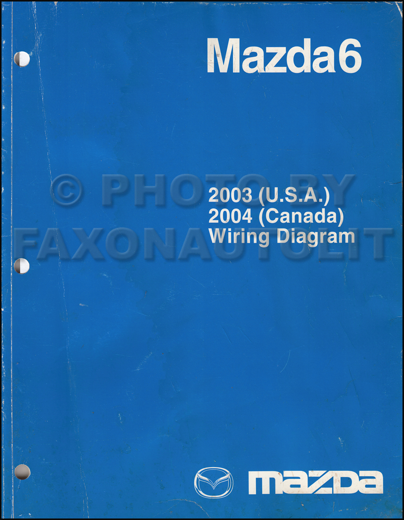 2003 mazda6 original wiring diagram and 2004 canada mazda 6 rh faxonautoliterature com 2003 mazda 6 alternator wiring diagram 2003 mazda 6 engine wiring diagram