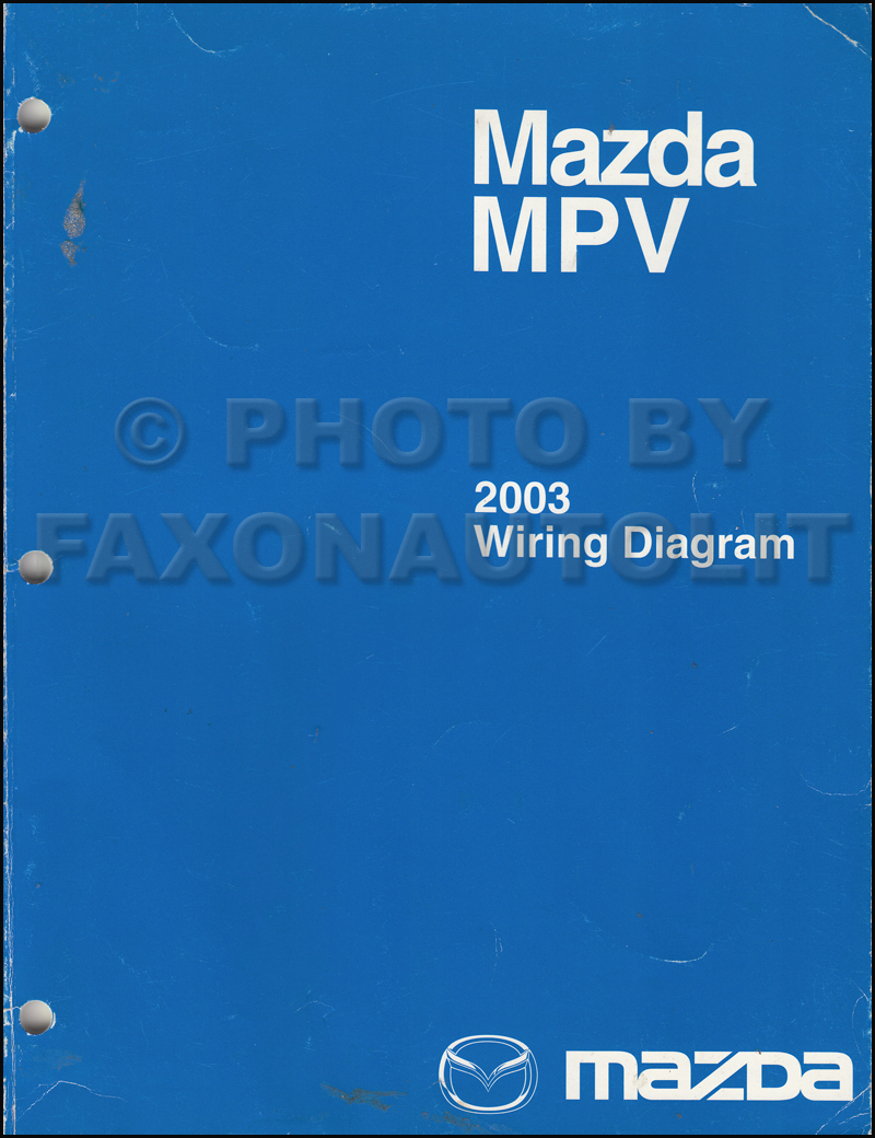 Mazda e2000 e2500 van chassis supplement workshop manual