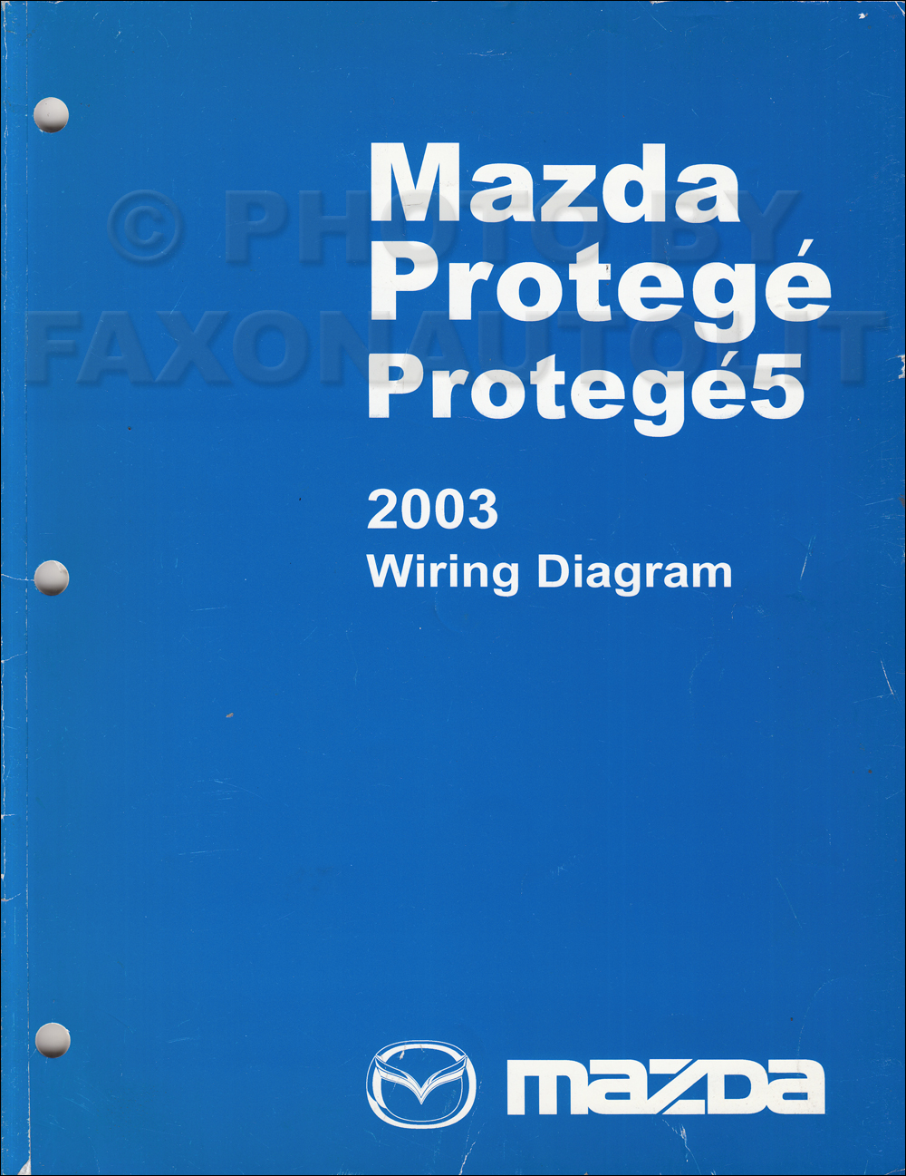 2003 mazda protege and protege5 wiring diagram manual original rh  faxonautoliterature com 02 Mazda Protege MPG 2002 mazda protege 5 wiring  diagram