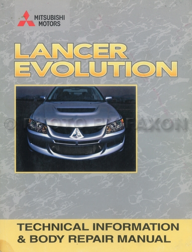 2006 Mitsubishi Lancer Repair Manual