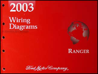 2003 ford ranger wiring diagram manual original rh faxonautoliterature com 2003 Ford Ranger Radio Wiring Diagram Electrical 2003 Ranger Cooling System Diagram