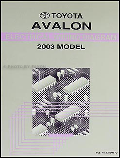 2003ToyotaAvalonEWD 2003 toyota avalon wiring diagram manual original 2003 toyota avalon wiring diagram pdf at panicattacktreatment.co