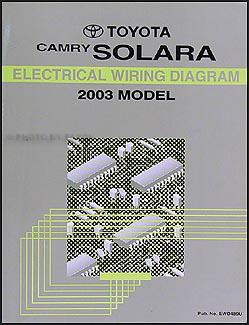 2003 toyota camry solara wiring diagram manual original rh faxonautoliterature com 2003 toyota camry wiring diagram 2003 toyota camry wiring diagram