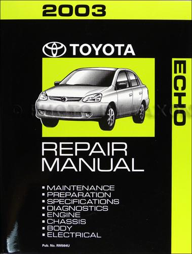 Toyota Repair Manuals