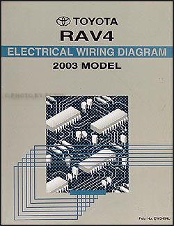2003ToyotaRAV4WD 2003 toyota rav4 wiring diagram manual original