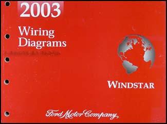 2003WindstarWD 2003 ford windstar wiring diagram manual original  at cos-gaming.co