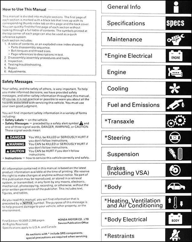2004 2006 acura tsx repair shop manual original rh faxonautoliterature com 2000 honda odyssey manual transmission 2000 honda odyssey repair manual