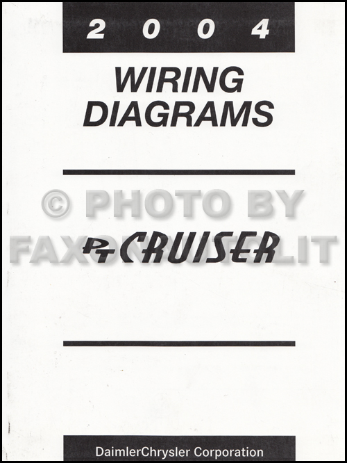 2004 chrysler pt cruiser wiring diagram manual original