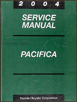 2004 chrysler pacifica repair shop manual original rh faxonautoliterature com 2004 chrysler pacifica repair manual pdf chrysler pacifica service manual