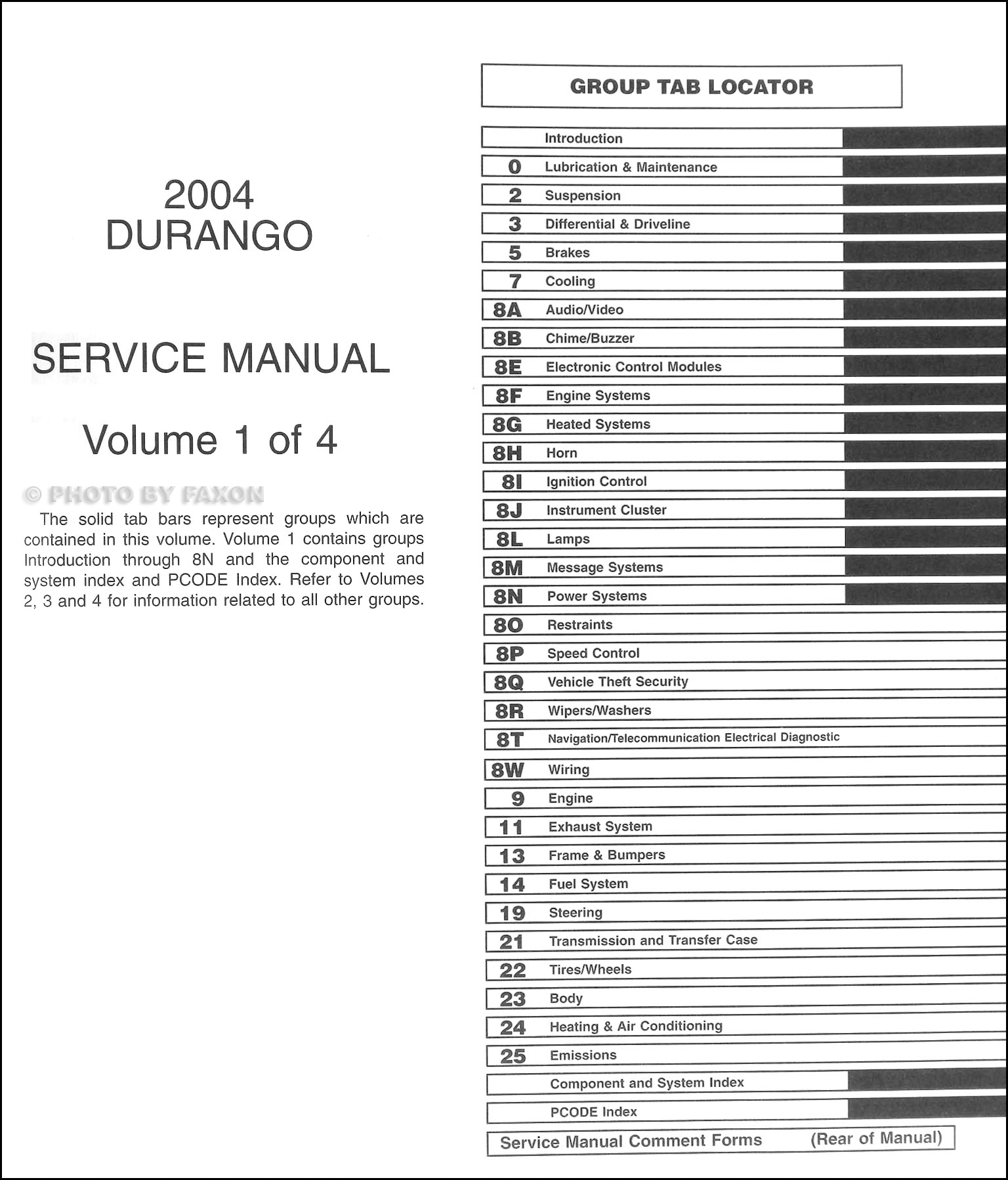service manual pdf 2004 dodge durango service manual. Black Bedroom Furniture Sets. Home Design Ideas