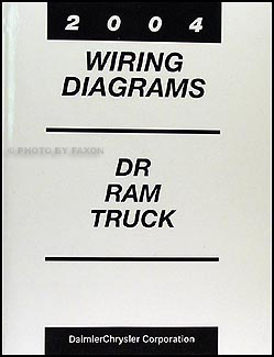 wiring diagram for 2004 dodge ram 2004 dodge dr ram truck wiring diagram manual original