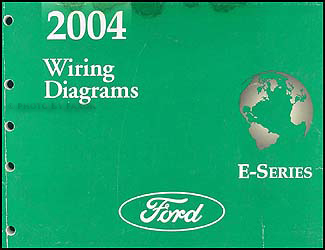 2004FordE SeriesWD 2004 ford econoline van & club wagon wiring diagram manual original ford e150 wiring diagram at fashall.co