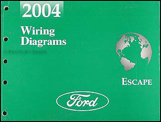 2004 ford escape wiring diagram manual original rh faxonautoliterature com