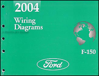 2004 Ford F-150 Wiring Diagram Manual Original