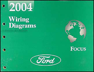 2004 Ford Focus Wiring Diagram Manual Original