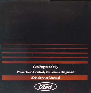 2004 Gas Engine & Emissions Diagnosis Manual FoMoCo Car & Truck