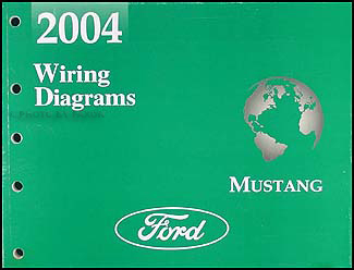 2004 ford mustang wiring diagram manual original rh faxonautoliterature com 2014 ford mustang wiring diagram 2004 ford mustang headlight wiring diagram