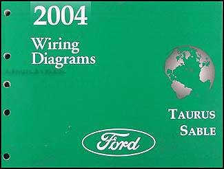 2004 ford taurus mercury sable wiring diagrams manual original rh faxonautoliterature com 2004 ford taurus stereo wiring diagram 2004 ford taurus wiring diagram to ignition