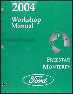 2004 ford star mercury monterey wiring diagram manual original related items