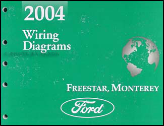 2004FreestarMontereyWD 2004 ford freestar & mercury monterey wiring diagram manual original 2004 ford freestar wiring diagram at eliteediting.co