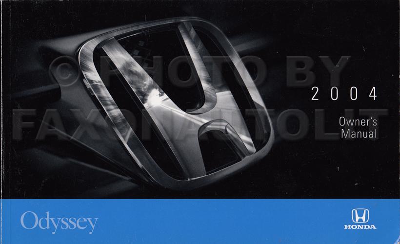 2004 honda odyseey owners manual best setting instruction guide u2022 rh ourk9 co 2011 Honda Odyssey DVD Player 2018 Honda Odyssey Touring Elite