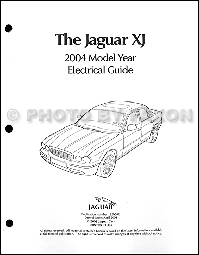 2004 jaguar xj8 and xjr electrical guide wiring diagram on jaguar ignition wiring diagram 1957 Chevy Ignition Wiring Diagram 1970 Ignition Switch Diagram