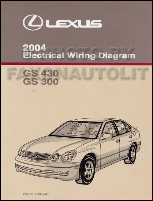 2004 Lexus Gs 300 And Gs 430 Repair Shop Manual Original 2