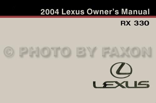 2004 Lexus Rx 330 Wiring Diagram Manual Original