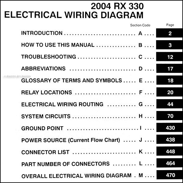 lexus rx330 wiring diagram residential electrical symbols u2022 rh bookmyad co