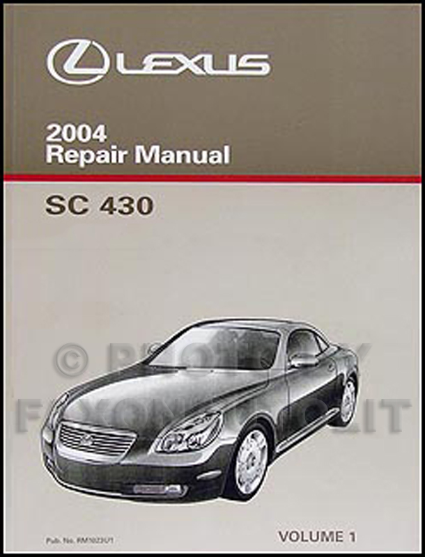 search rh faxonautoliterature com  2002 lexus sc430 owners manual free