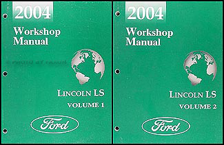 2004 lincoln ls shop manual original 2 volume set repair lincoln ls workshop manual pdf 2006 lincoln ls workshop manual