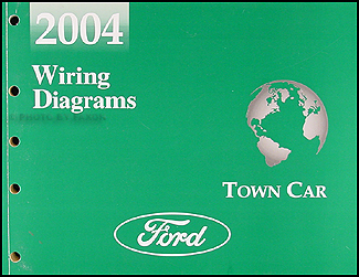 2004 Lincoln Town Car Original Wiring Diagrams