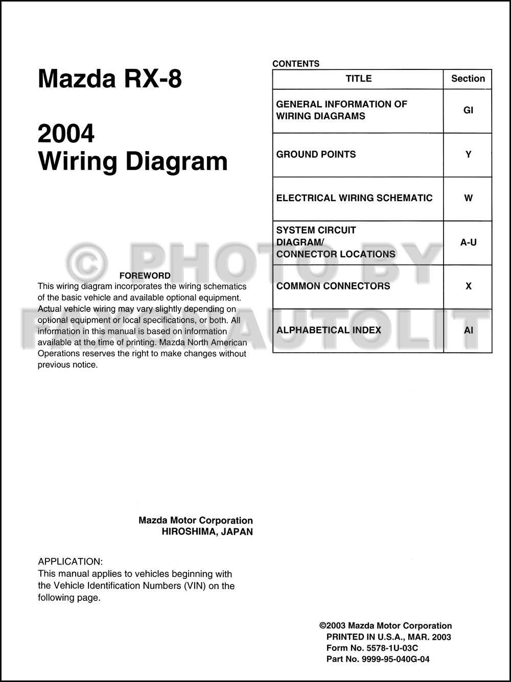 wiring diagrams for mazda rx 8 2004 mazda rx 8 engine diagram