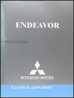 2004 mitsubishi endeavor wiring diagram manual original rh faxonautoliterature com