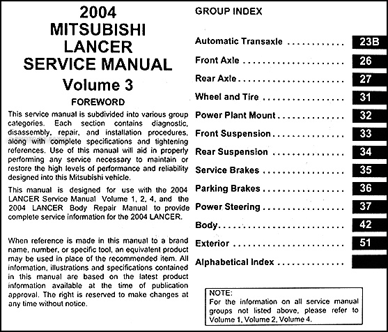 2004 mitsubishi lancer repair shop manual original 4 2014 Mitsubishi Lancer 2014 Mitsubishi Lancer Sportback