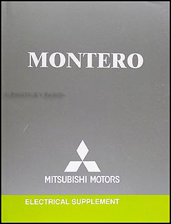 2004 mitsubishi montero wiring diagram manual original 1999 Mitsubishi Montero Electrical Circuit at 2004 Mitsubishi Montero Limited Wiring Diagram