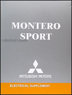 2004MitsubishiMonteroORMS 2004 mitsubishi montero sport wiring diagram manual original 2001 mitsubishi montero sport wiring diagram at soozxer.org