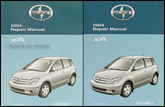 2004 scion xa repair shop manual original 2 vol set rh faxonautoliterature com 2004 scion xa repair manual 2004 scion xa owners manual
