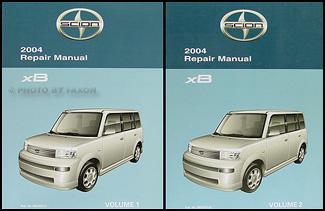 2004 Scion xB Wiring Diagram Manual Original