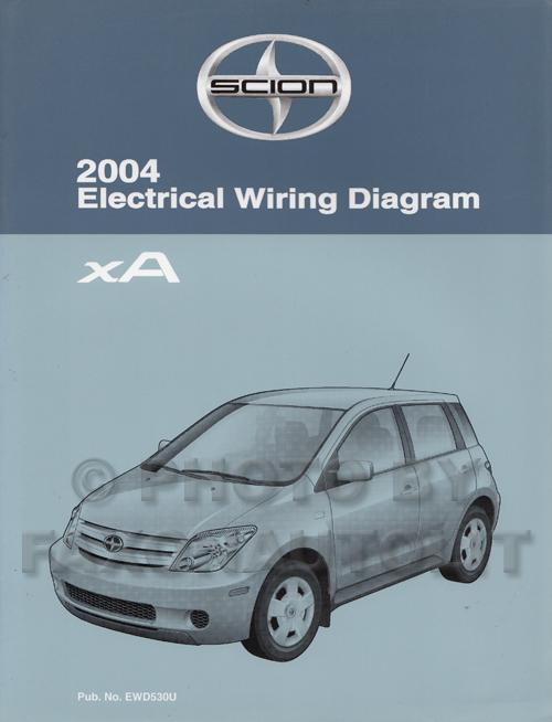 Scion Xa Wiring Diagram - Basic Wiring Diagram •