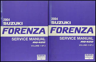 service manual suzuki forenza free owners manual u2022 rh wordworksbysea com 2004 Suzuki Forenza Starter Problem 2004 Suzuki Forenza Starter Problem
