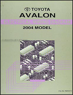 2004 toyota avalon wiring diagram manual original. Black Bedroom Furniture Sets. Home Design Ideas