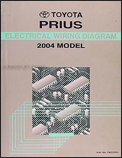 2004 toyota prius wiring diagram manual original rh faxonautoliterature com Wiring-Diagram Dome Assembly Prius 2013 Prius V Wiring Diagram