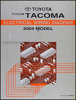 2004ToyotaTacomaWD 2004 toyota tacoma pickup wiring diagram manual original 2014 toyota tacoma wiring diagram at mifinder.co