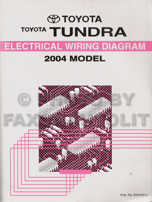 2004 toyota tundra wiring diagram manual original rh faxonautoliterature com 2004 toyota camry radio wiring diagram 2004 toyota matrix radio wiring diagram