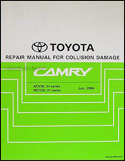 2002 2006 toyota camry body collision repair shop manual. Black Bedroom Furniture Sets. Home Design Ideas